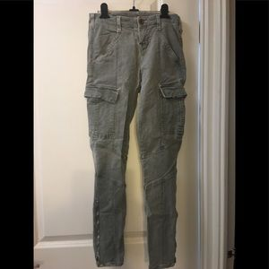 J Brand Houlihan Cargo skinny pants size 24